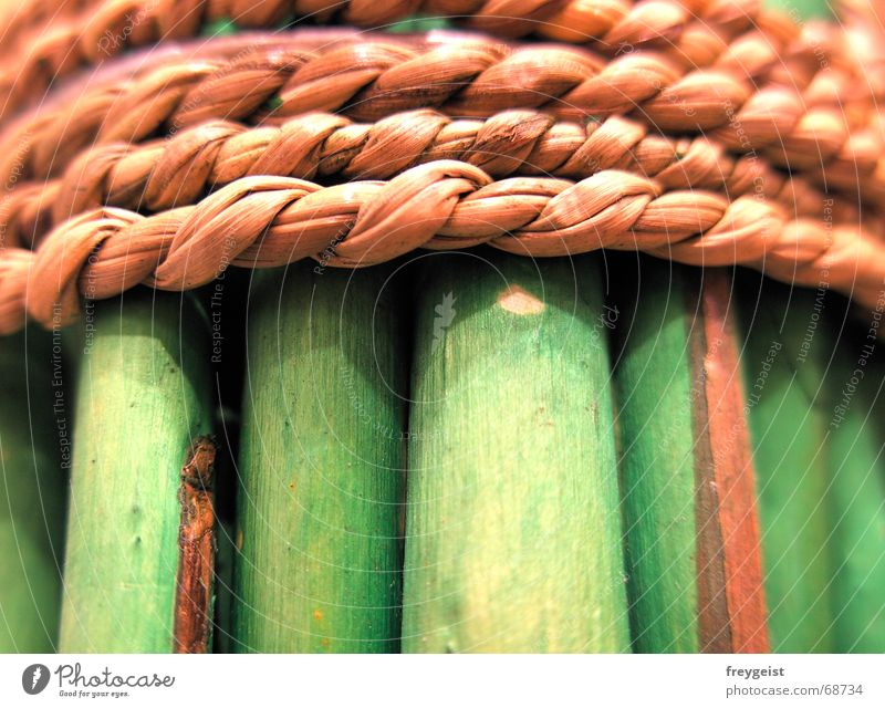 Nature Green Wood Style Brown Rope Common Reed Pasture Bundle Wood flour Upper lip Bast