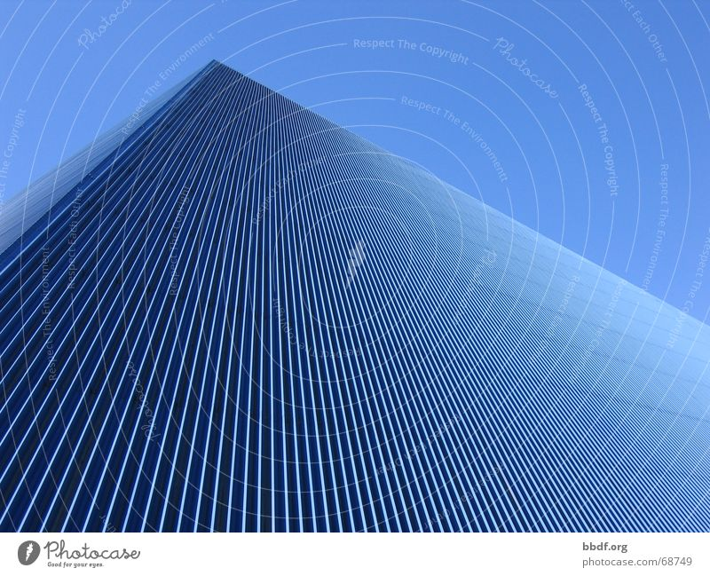 Sky Blue Roof Blue sky California Triangle Pyramid Corrugated sheet iron Corrugated iron roof Long Beach