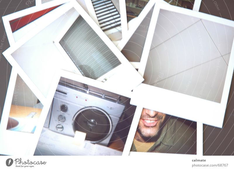 - polaroid II - Snapshot Photography Spontaneous Desk Too bright Work and employment Agenda Window Mat Old Laughter Joy Collection Mouth Radio (broadcasting)