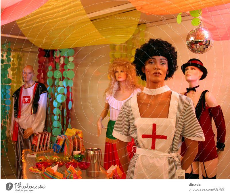 Colour Party Kitsch Decoration Statue Trashy Doll Arrogant Placed Mannequin Shop window
