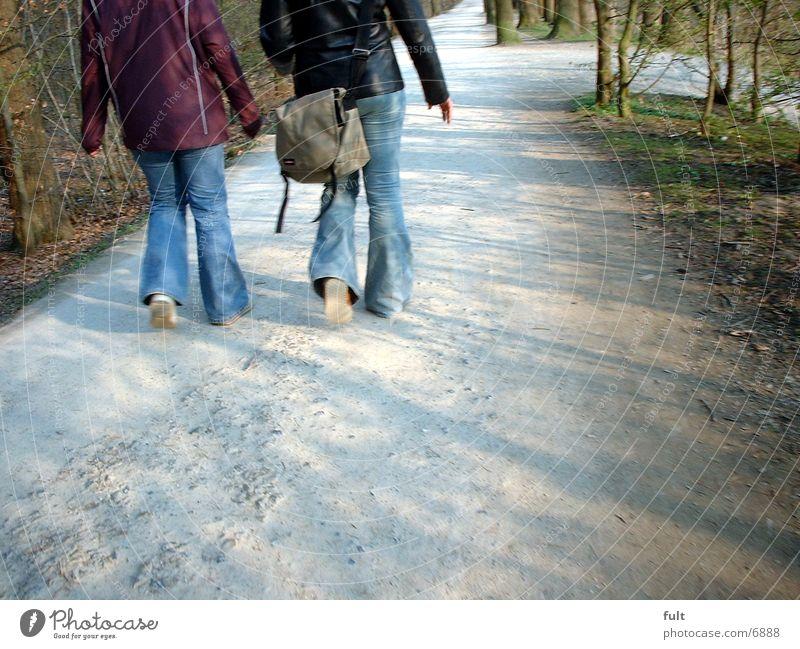 girls Woman Feminine Lanes & trails