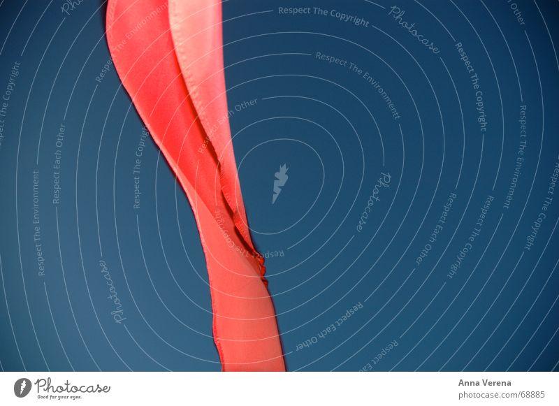 Sky Blue Beach Freedom Wind Flag String Warning label Sylt Brilliant Full Danger of Life Judder
