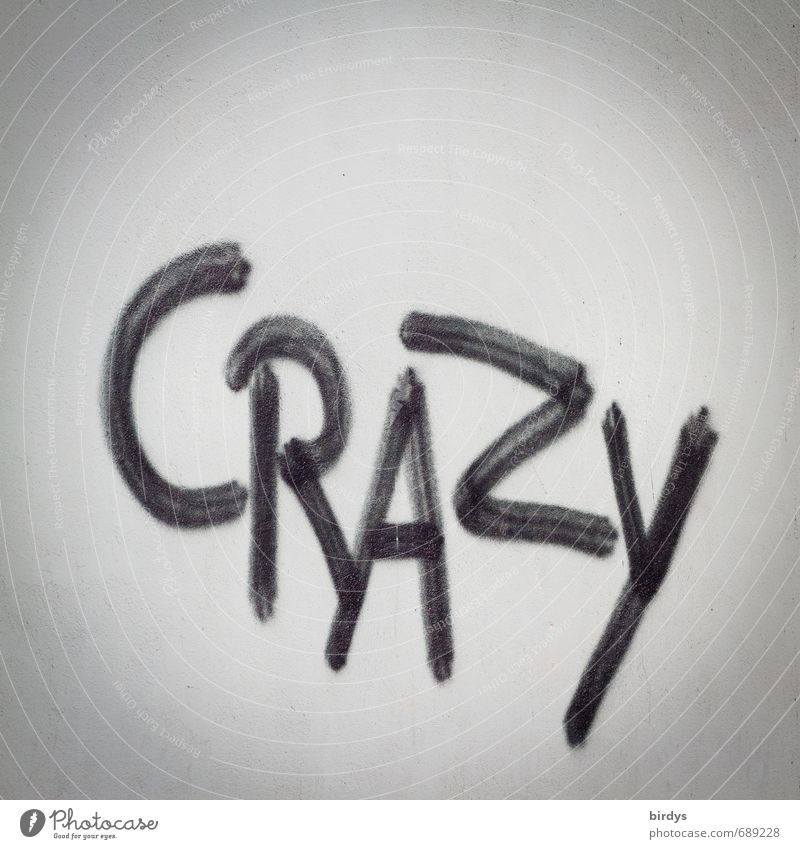 Black Graffiti Emotions Gray Characters Esthetic Crazy Creativity Youth culture Anger Society Surprise Street art Frustration Expression Horror