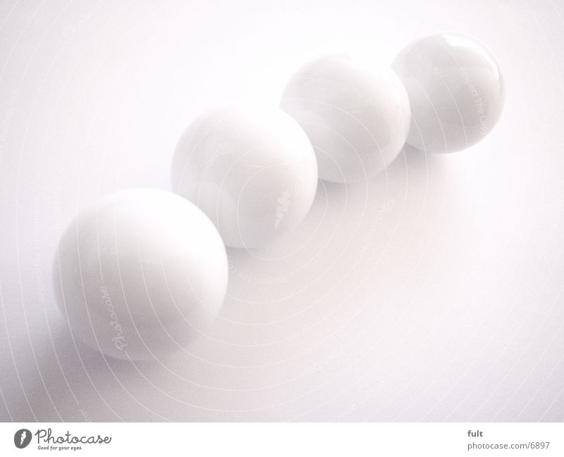 White Glass 4 Things Sphere
