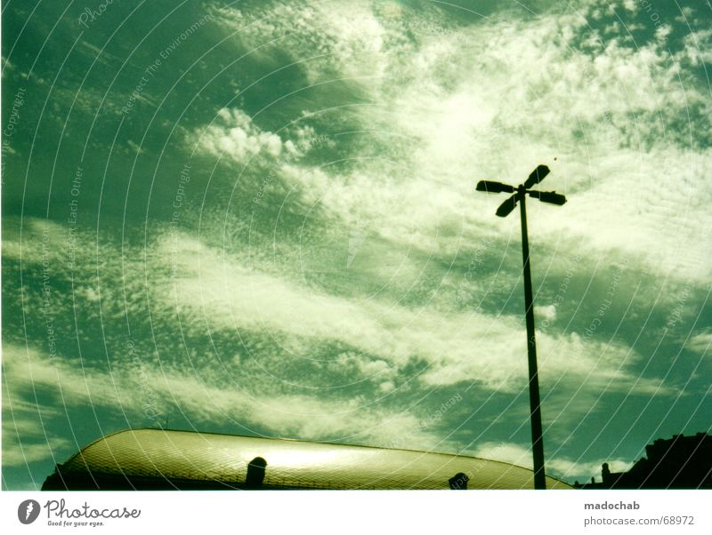 Sky Plant Clouds Animal Underwater photo Lantern Ocean Street lighting Partially visible Budapest Bottom of the sea