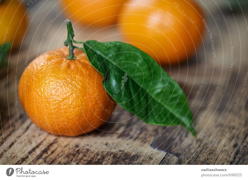 Beautiful Green Colour Leaf Natural Food Orange Fruit Fresh Happiness Many Pure Part Organic produce Wooden board