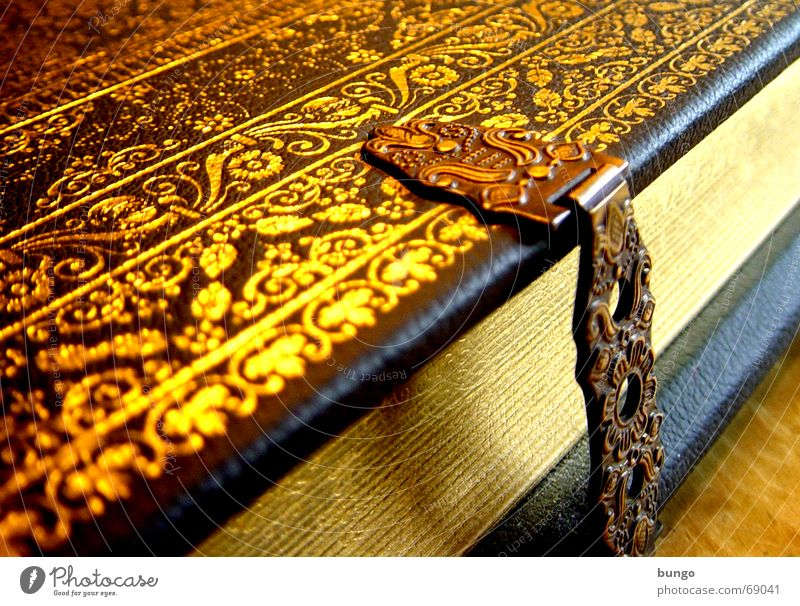 Relaxation Wood Religion and faith Metal Book Gold Closed Paper Safety Reading Communicate Characters Leisure and hobbies Decoration Mysterious Castle