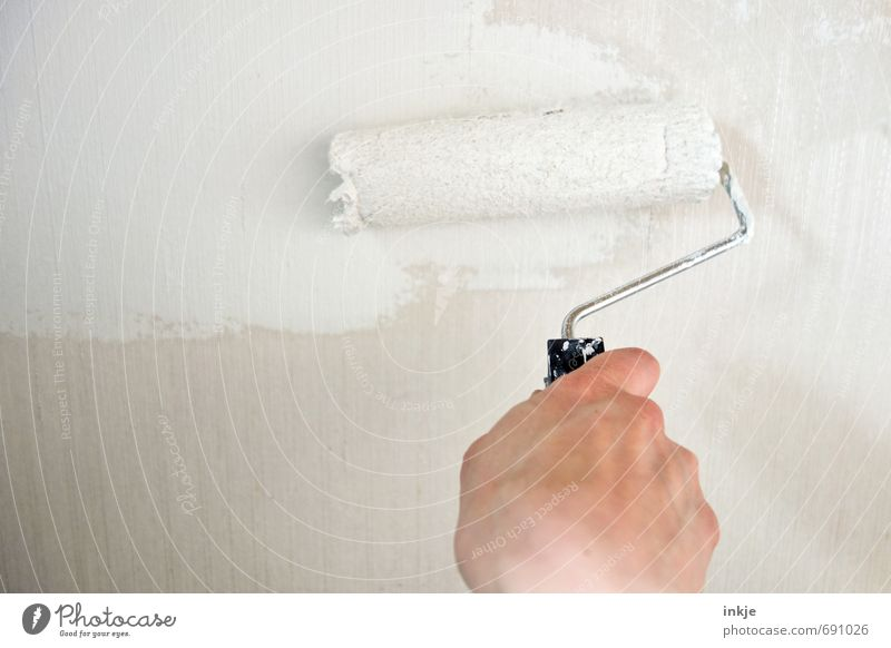 paint Style Living or residing Redecorate Work and employment Profession Craftsperson Painter Craft (trade) Hand 1 Human being Wall (barrier) Wall (building)