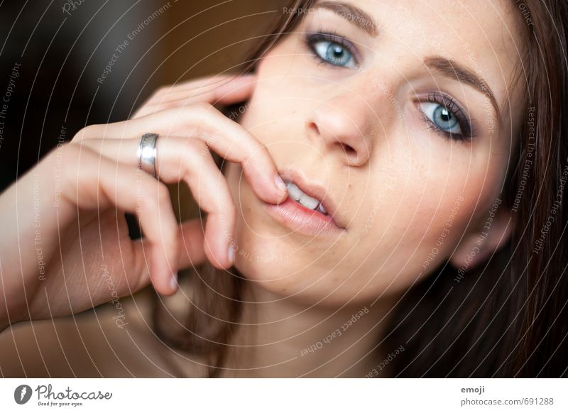 Human being Youth (Young adults) Beautiful Young woman 18 - 30 years Face Adults Feminine