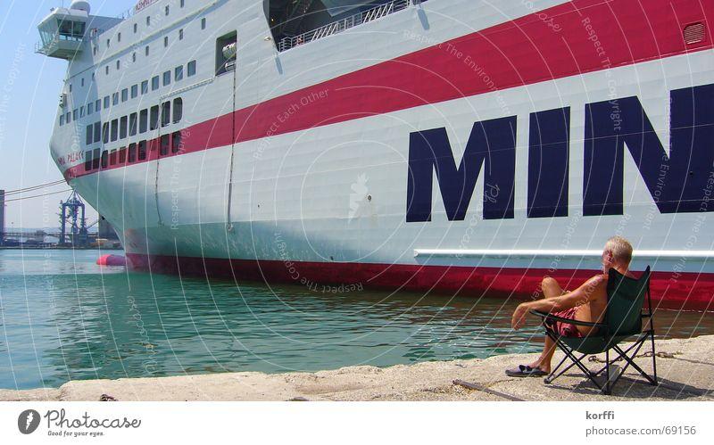 Ocean Calm Watercraft Sit Harbour Ferry Port