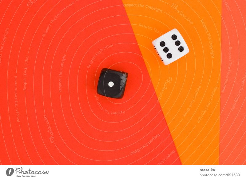 cubes on orange graphic background Lifestyle Style Design Joy Happy Entertainment Success Loser Select Together Uniqueness Orange Red Black White Enthusiasm