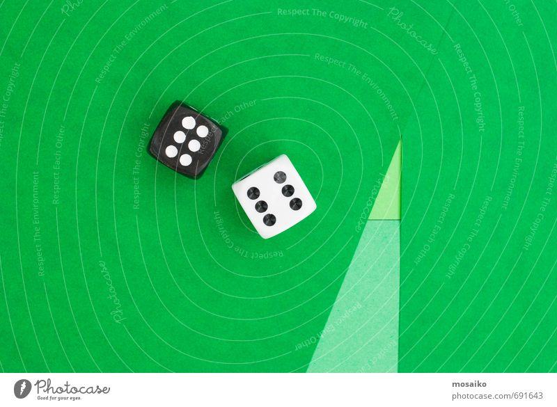 chance Green White Joy Black Playing Happy Leisure and hobbies Lifestyle Design Signs and labeling Success Simple Paper Digits and numbers Toys
