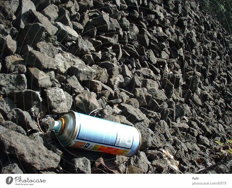 spray can Tin Baseball cap Things Sparycan Stone
