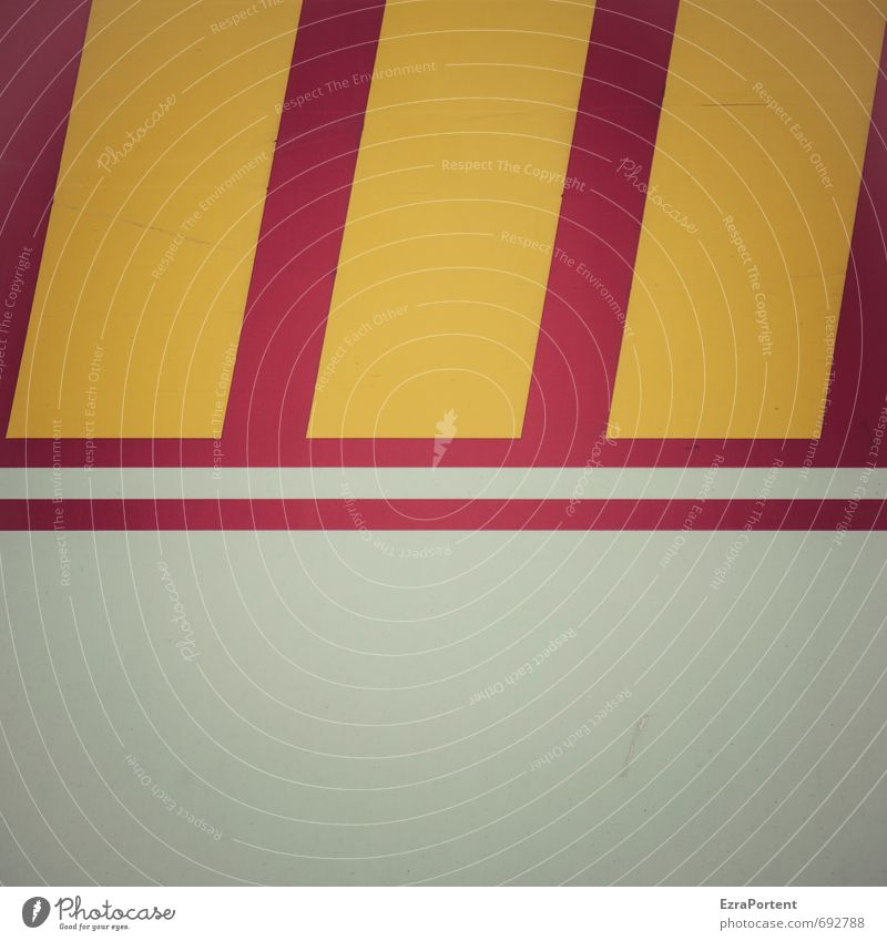 \\\ Line Yellow Red Structures and shapes Design Style Stripe White Illustration Graphic Considerable Colour photo Subdued colour Exterior shot Abstract Pattern