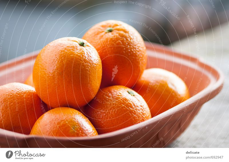 Oranges I Food Fruit Nutrition Vegetarian diet Fruit basket Bowl Healthy Healthy Eating Life Well-being To enjoy Delicious Health care Breakfast Juicy