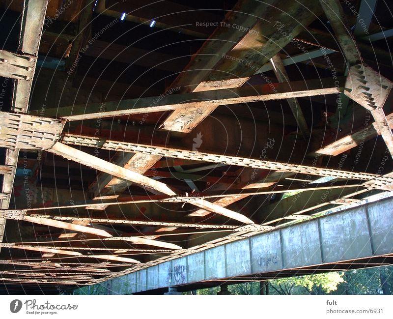 bridge Steel Bridge Metal Old
