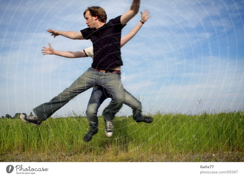 choreography Jump Hand Dance Composing Together Abstract Art Human being Flying Aviation Arm Legs Feet galle77 Movement Facial expression Structures and shapes
