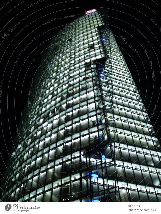 db-center House (Residential Structure) Potsdamer Platz Architecture