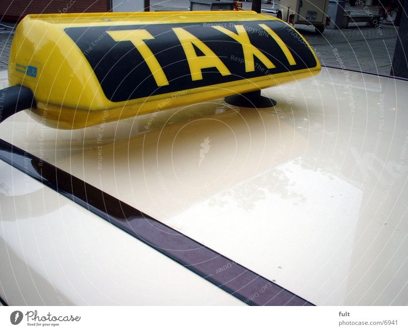 taxi Taxi Roof Transport Car Varnish Services