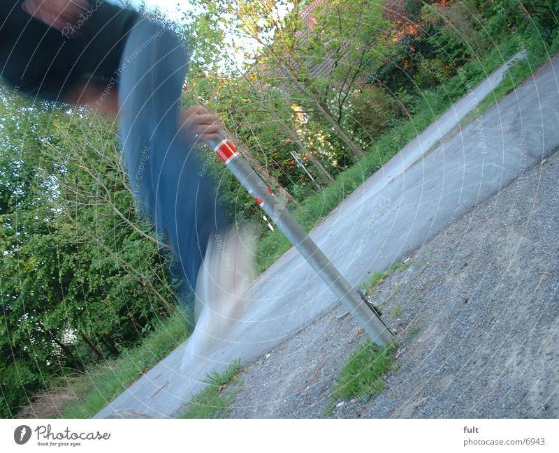 move Blur Man Movement
