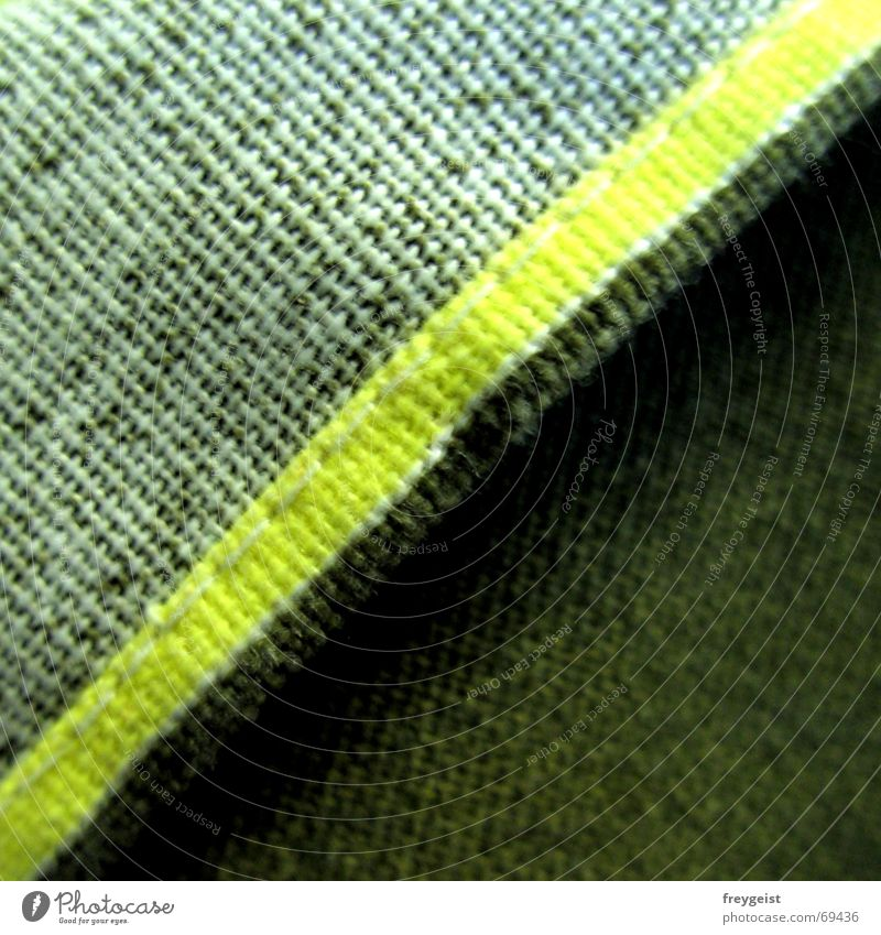 neon Neon light Green White Yellow Triangle Square Cloth Stitching Diagonal stitched Wrinkles Division garade