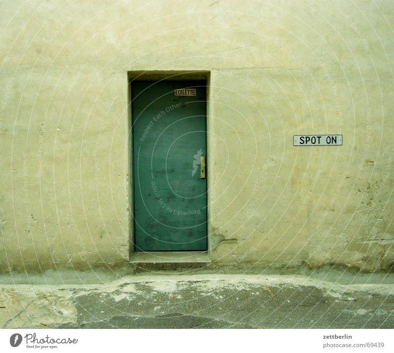 Toilet - Spot on! Entrance Society Door toilet door green door ilja judge sanitary department
