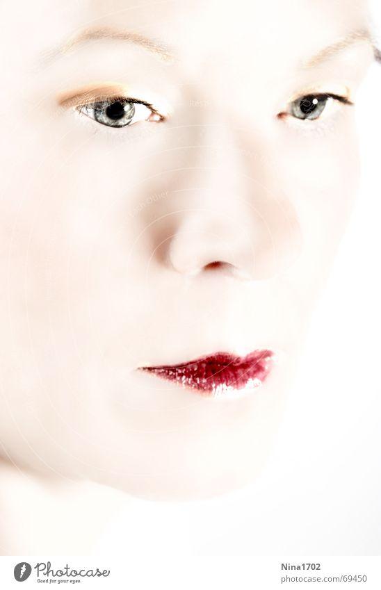 beauty High-key Portrait photograph Beauty Photography Woman Glamor Soft Bright background Face