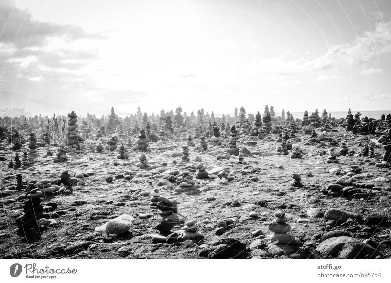 Calm Beach Dark Stone Exceptional Art Dream Esthetic Beautiful weather Creativity Uniqueness Eternity Mysterious Running Serene Discover