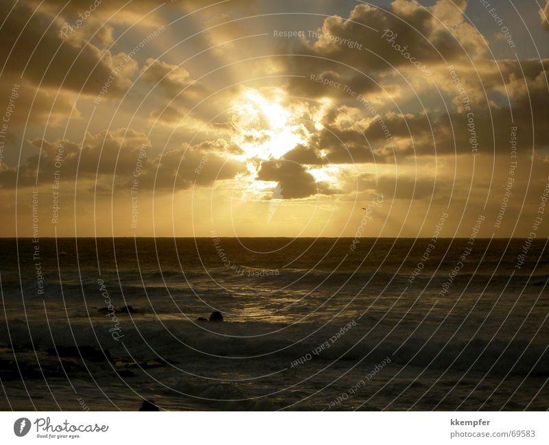 Sky Sun Ocean Beach Vacation & Travel Clouds Romance Sunset Wanderlust Lanzarote