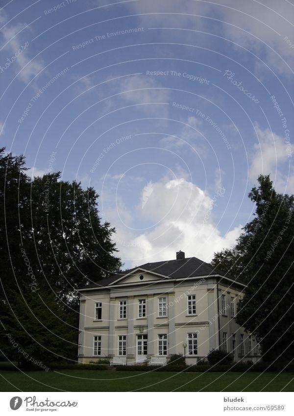 Egestorff Villa Farmhouse Bremen Clouds Building Osterholz 1857 Architecture