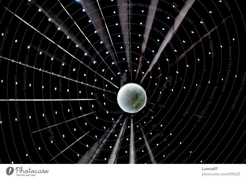 Lost in space Black Point of light Middle Work of art Hollow Center point