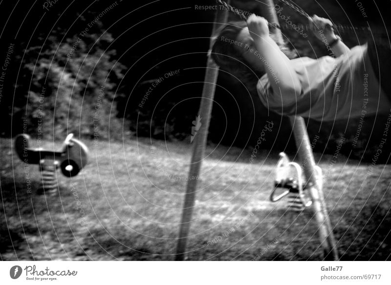 wonderful time Swing Forwards Backward Playground Child Wing Youth (Young adults) Joy