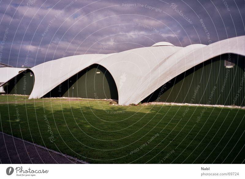 CIS Tennis Centre Building House (Residential Structure) Manmade structures Concrete tenniscenter Solothurn Architecture