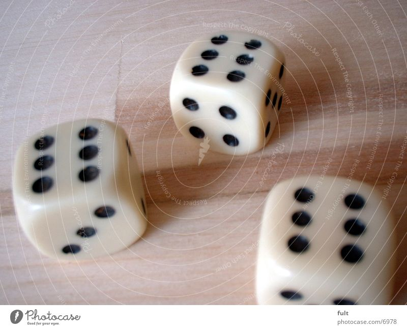 dice 6 Leisure and hobbies Plastic double Dice
