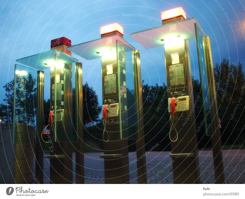 telephones Telephone Phone box Light Telecommunications Glass