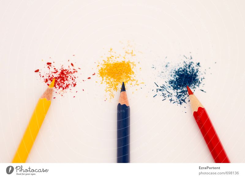 YrByRb Style Design School Office work Workplace Line Esthetic Together Natural Beautiful Blue Multicoloured Yellow Red White Pen Crayon