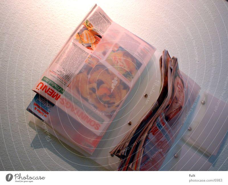 wall newspaper holder Wall (building) Shelves journals