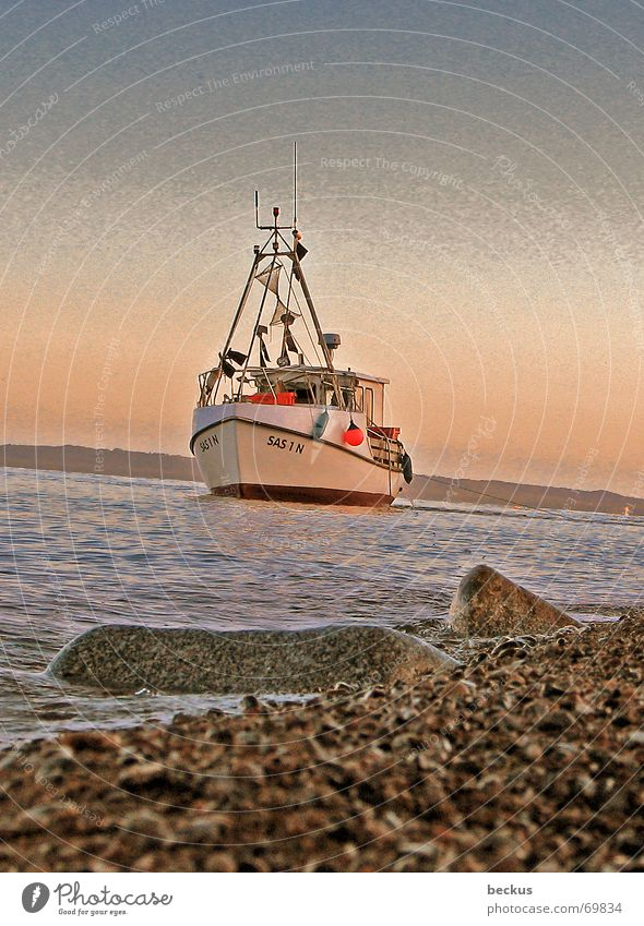 Water Lake Watercraft Navigation Baltic Sea Fisherman Fishing boat