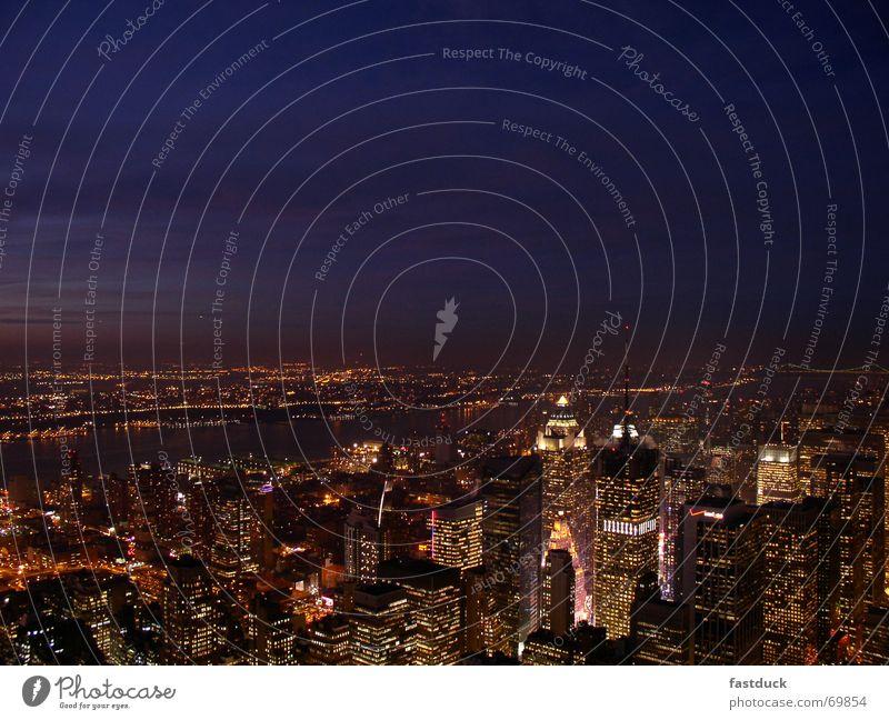 High-rise New York City Manhattan Hudson River Times Square