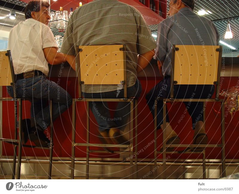 the three Man Counter Stool To talk Group