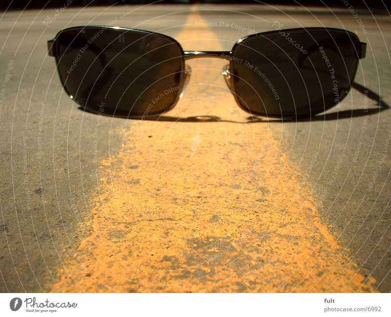 sunglasses Sunglasses Eyeglasses Yellow Stripe Line Things