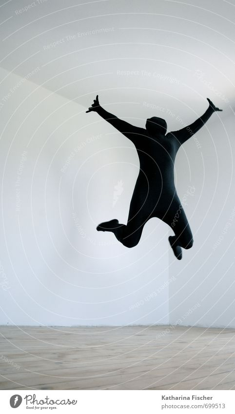 Human being White Joy Black Life Movement Sports Gray Freedom Happy Exceptional Jump Brown Art Room