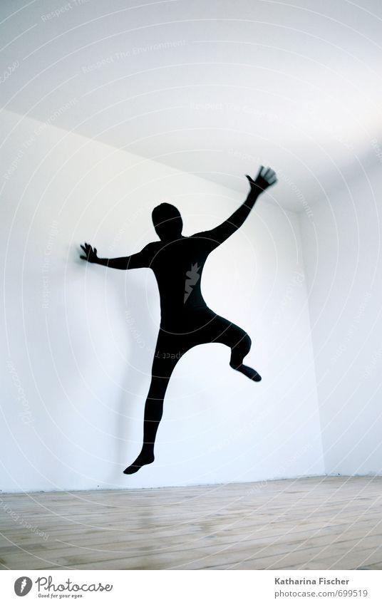 #699519 Art Actor Dance Dancer Jump Athletic Exceptional Threat Cool (slang) Thin Blue Brown Black White Joy Joie de vivre (Vitality) Movement Bizarre Colour