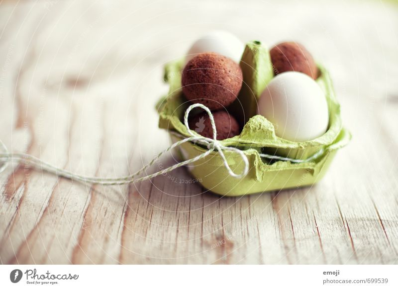 Wrong eggs Food Cake Egg Eggs cardboard Nutrition Picnic Organic produce Finger food Delicious Sweet Easter Easter egg nest Colour photo Interior shot Close-up