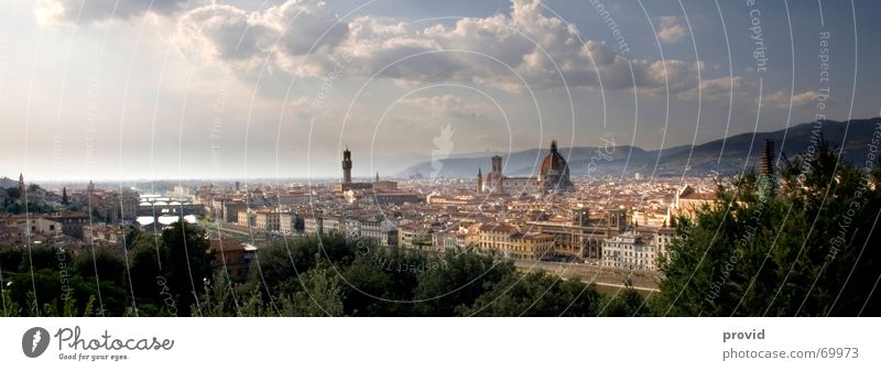 Florence Town Vacation & Travel Italy Panorama (View) Art Culture Dome Religion and faith provid Large Panorama (Format)