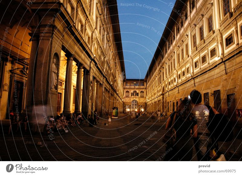 official Night Town Vacation & Travel Culture Art uffizio italy florence Museum Evening