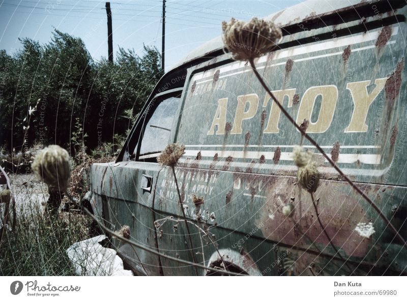 Old Sky Plant Summer Loneliness Cold Car Warmth Landscape Characters Broken Lie Thin Trash Hot Derelict