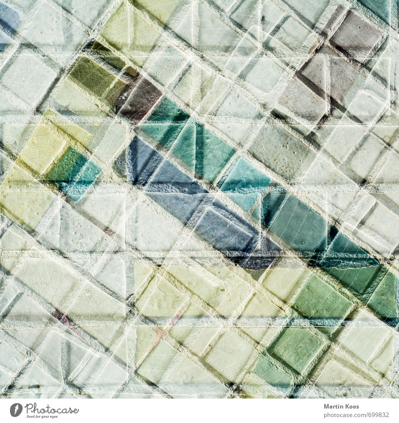 scepsis Wall (barrier) Wall (building) Facade Stone Esthetic Sharp-edged Eternity Colour Complex Modern Perspective Surrealism Dream Irritation Distress Change