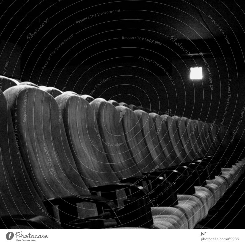 White Calm Black Sit Empty Electricity Places Film industry End Shows Cinema Seating Armchair Row of seats Guest Media
