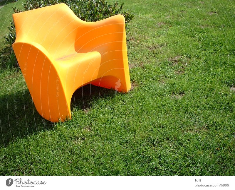 chair Style Living or residing Chair Lawn Orange